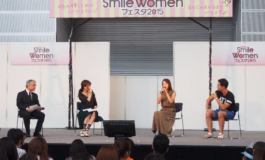 MAMACOLLECTION AT SMILE WOMENフェスタ2015@さいたまスーパー